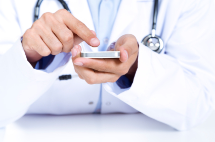 Doctor-Using-Medical-Smartphone